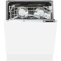 Continental Edison CELV1249FULL Entièrement intégré 12places A+ lave-vaisselle - Lave-vaisselles (Entièrement intégré, Blanc, 1,8 m, 12 places, 49 dB, A)
