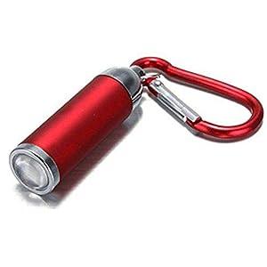 1 pcs Mini USB torche lampe de poche led portable rechargeable porte clé