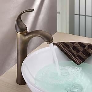 Centerset altmessing Waschbecken Wasserhahn