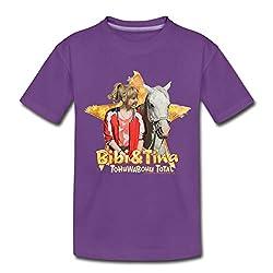 Bibi Und TinaTohuwabohu Total Sabrina Teenager Premium T-Shirt, 146/152 (10 Jahre), Lila