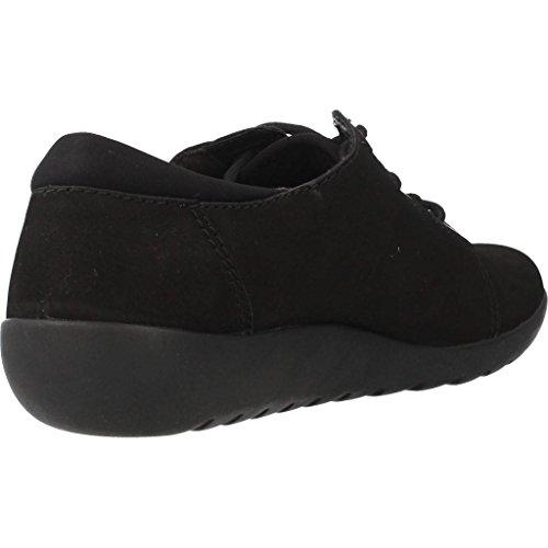 Clarks Medora Bella lace up shoe Noir