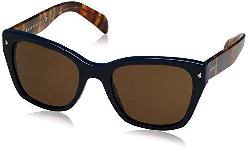 Prada Damen 0PR09SS TFM9L1 54 Sonnenbrille, Blau (Bluette/Brown),