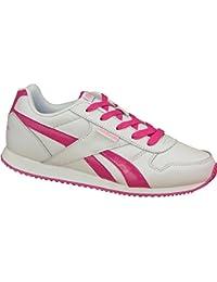 Reebok - Zapatillas de Material Sintético para niña Rosa ULTRBRRY/BLUE/WHT/YLLW, color Rosa, talla 23.5