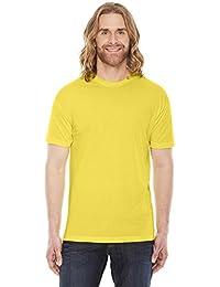 American Apparel Unisex Poly-Cotton Short-Sleeve Crewneck