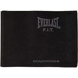 Everlast EV2458BK Slimmer Belt Cintura Fitness, in Neoprene, Adatta per Taglia Vita fino a 117 cm