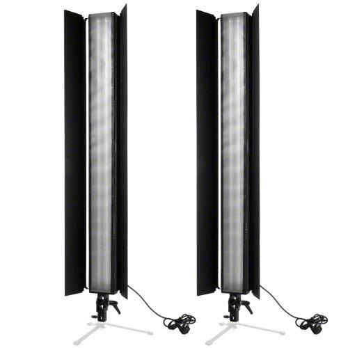 Walimex Daylight Stripe 110 W Abschirmklappe (2er Set)
