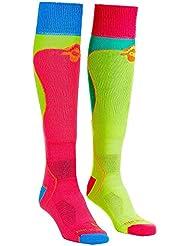 Ortovox Rock'n'Wool Chaussettes de ski pour femme Multicolore