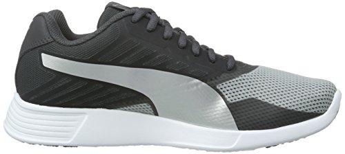 Puma St Trainer Pro, Baskets Unisexes - Gris Adulte (grau (asphalt-puma Silver 02))