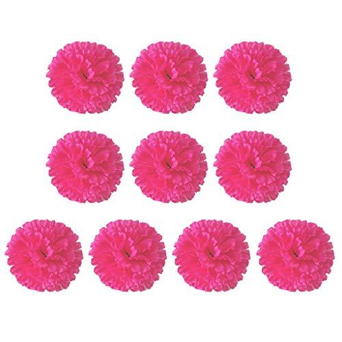 Künstliche gefälschte Nelken Silk Flower Bridal Hydrangea Home Muttertag Unechte...