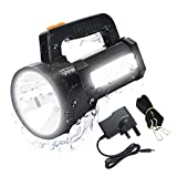 ERAY Powerful Rechargeable CREE LED Searchlight Spotlight Handheld Torch, Waterproof High Power Beam
