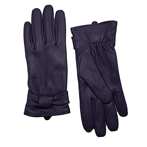 539a95ddabacfd YISEVEN Soft Damen Lederhandschuhe für Winter Warm Lammfell Handschuhe 100%  Thermal Lining Pure.