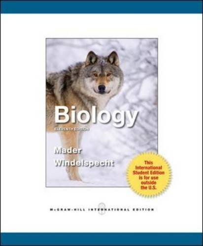 Biology by Sylvia S. Mader (2012-02-01)