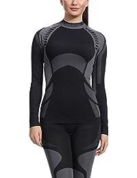 Ladeheid sous-Vêtement T-Shirt thermoactif à Manches Longues Pour Femme