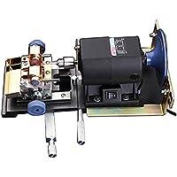 Baoshishan Perlenbohrmaschine, 480 W, bernsteinfarbenes Holding Machine Perlenpoliermaschine mit Schleifscheibe, volle Geschwindigkeit einstellbar (220 V)