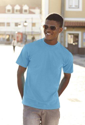 Fruit Of The Loom 61044 Mens Short Sleeve Super Premium T-Shirt Tee Rosa