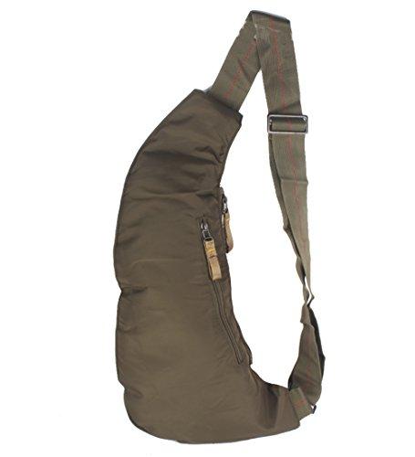 Innturt Bodybag-Rucksack, Nylon Grün