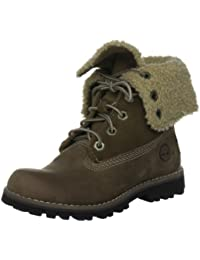 Timberland Auth 6In Shrl Bt Brown, Boots mixte enfant