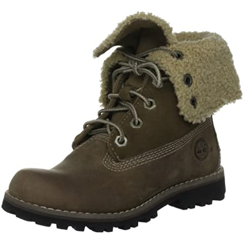 Timberland Auth 6In Shrl Bt Sla Taupe, Scarpe per bambini,