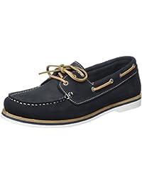 Tamaris 42 Nubuc 23616 Femme Loafers Eu Bleu Navy Mocassins rrq0Yxg