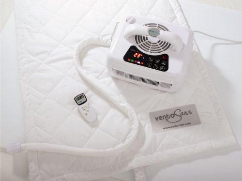 Preisvergleich Produktbild VentoSana Thermotherapie wärmende + kühlende Matratzenauflage 190x70 cm