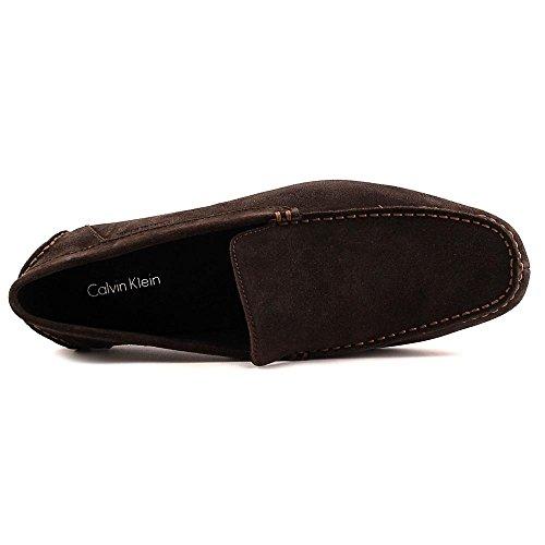 Calvin Klein Menton Daim Mocassin brown