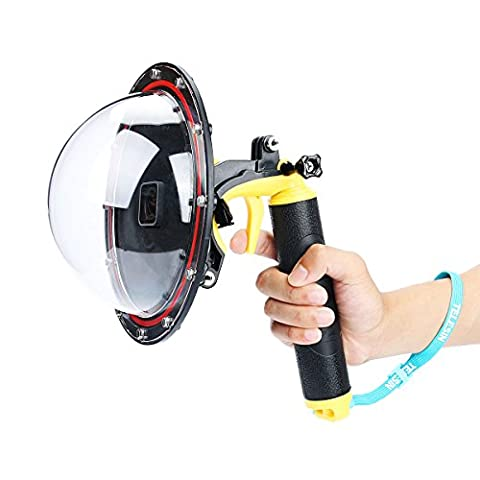 TELESIN 3rd Edition GoPro Camera Accessories Gopro Dome Port , Underwater 6