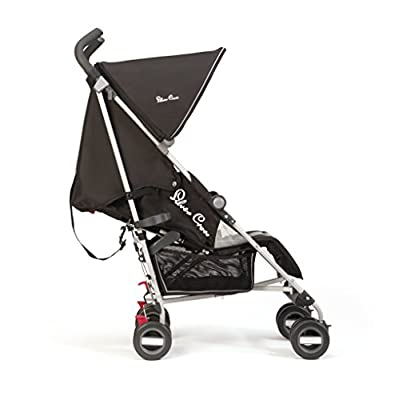 Silver Cross Zest Stroller, Black iSafe