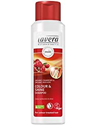 lavera Hair Colour & Shine Shampoo ∙ Organic Cranberry ∙ Colour treated hair ∙ Vegan ✔ Organic Hair Care ✔ Natural Cosmetics ✔ 200ml