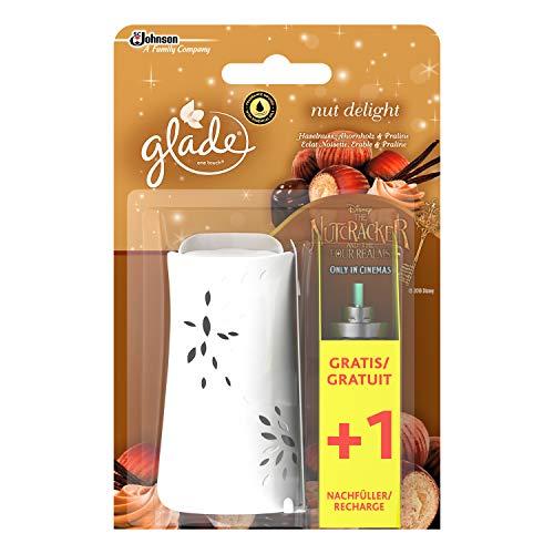 Glade One Touch Minispray Halter Bonuspack Nut Delight (Haselnuss, Ahornholz & Praline), 2x10ml