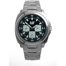 Caterpillar DP multif. CA1581 - Reloj de Caballero de Cuarzo, Correa de Acero Inoxidable