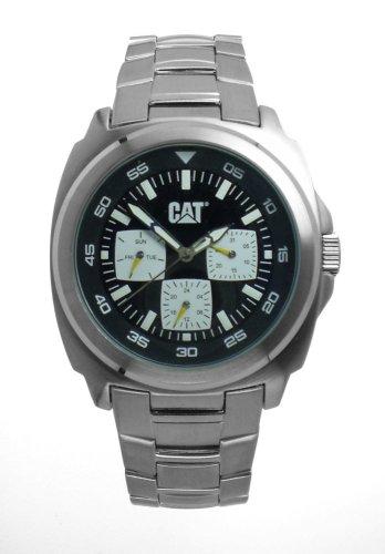 Caterpillar - DP multif. CA1581 - Montre Homme - Quartz - Analogique - Bracelet Acier Inoxydable Argent