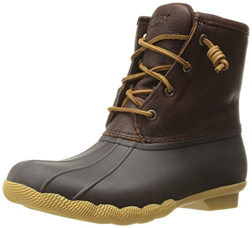 Sperry Top-Sider Womens Saltwater Thinsulate Rain Boot brown