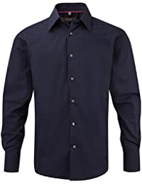 Z954 Körperbetontes langärmeliges Hemd aus Tencel®
