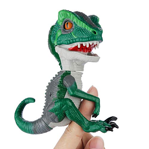 YDZDQ Finger Dinosaur, T-Rex Dinosaur Hand Puppet Toys, Interactive T-Rex Finger Dinosaur, Children's Gift Choose, Collectible Dinosaur Model Toy (T-Rex Army Green)