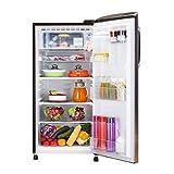 LG 190 L 4 Star Inverter Direct Cool Single Door Refrigerator (GL-B201AHPX, Hazel Plumeria)