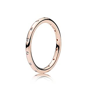 Pandora Damen-Ringe zirkonia roségold