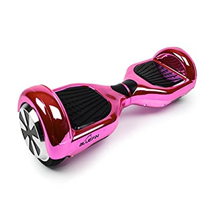 """Bluefin 6.5"""" Classic Swegway Hoverboard with Built-in Bluetooth Speakers and Carry Bag"""