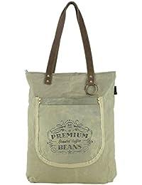 Strandtasche Handtasche Damen Tasche Damentasche Shopper Vintage Retro Bunt
