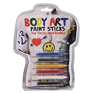npw Body Art Paint Sticks