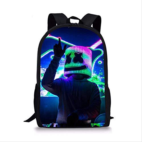 ESFSAF-backpackHot Schwarz Schultasche Set Für Teen Boys Girls Cute Student Kids Schultasche CoolL4752C (Cute Teen Boy)