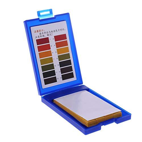 LANDUM 1-14 PH Testpapier Tropische Aquarium Wasser Test Kit 80 Stück