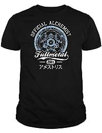 PLANETACAMISETA Camiseta Full Metal Alchemist