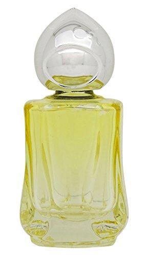 2 Pcs Huile Essentielle Rouleau Bouteille Parfum Roll-On Vide Bouteilles En Verre Jaune 10Ml