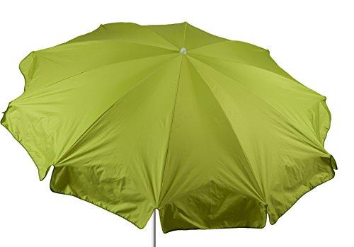 beo Sonnenschirme wasserabweisender, rund, Durchmesser 240 cm, hellgrün