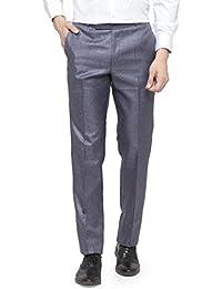 RG Designers Men Purple Pencil Slim Fit Formal Trousers_RGDSSCJio3_Purple