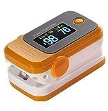 Finger Clip Typ Pulsoximeter Pulse Erkennung Herzfrequenz Meter Haushalt Medical Detektor? Das Produkt nicht enthalten Batterien?, Orange
