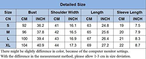 Herren T-Shirt mit Rundhalsausschnitt Schnalle Stitching Shirt Slim Fit Kurzarm Tee Basic Tops Braun