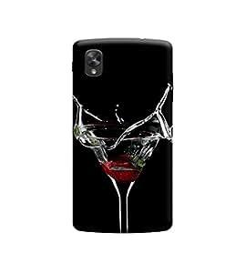 Ebby Premium 3d Desinger Printed Back Case Cover For LG Nexus 5 (Premium Desinger Case)