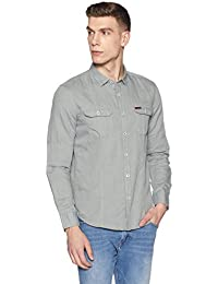 Symbol Amazon Brand Men's Casual Regular Fit Shirt