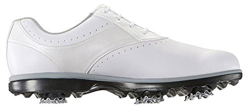 FJ eMerge Damen Golfschuhe - Wasserdicht (EU 38.5 Weiß)